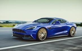 Aston Martin, blue cars, car