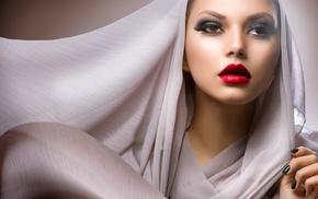 makeup, face, model, girl