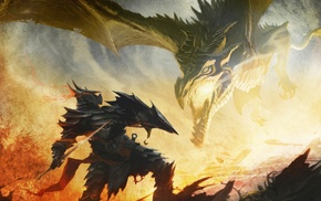 Alduin, dragonborn, The Elder Scrolls V Skyrim