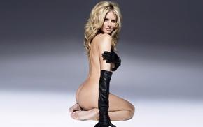 ass, blonde, boobs, girl, Heidi Klum