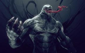 Venom, digital art, Spider, Man, fantasy art
