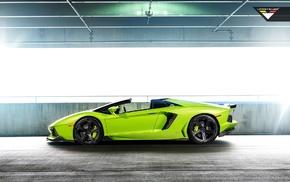 Vorsteiner, Lamborghini Aventador, Lamborghini Aventador V, Verde Ithaca, Lamborghini, car