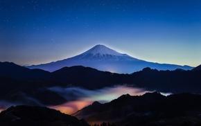 Mount Fuji, landscape, nature, Japan, mountain