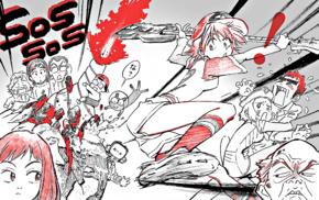 guitar, anime, FLCL