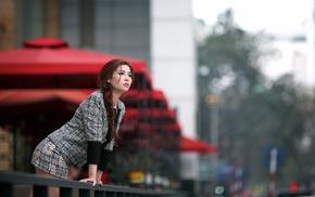 girl, Asian, model