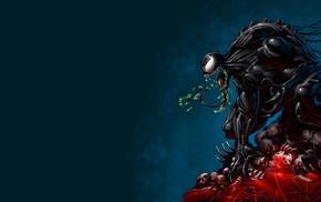 Spider, Man, Venom, digital art, drawing