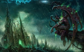 World of Warcraft, Illidan Stormrage, fantasy art