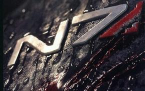 N7, video games, logo, Mass Effect