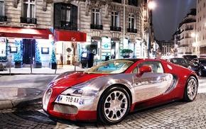 Bugatti Veyron, Bugatti, vehicle, car
