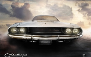 car, Dodge Challenger, Dodge