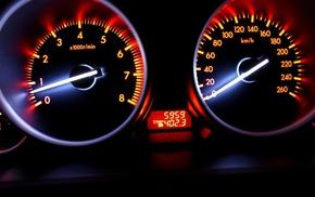 tachometer, car, speedometer, luxury cars