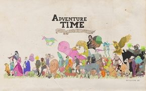 Adventure Time, Finn the Human, cartoon, Jake the Dog