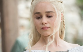 Daenerys Targaryen, Game of Thrones, actress, girl, Emilia Clarke