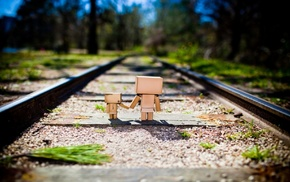 nature, railway, Danbo