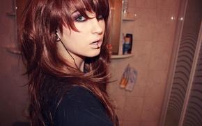 bloodsuccubus, model, face, Niky Von Macabre, piercing, girl