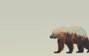 animals, Double Exposure, Andreas Lie