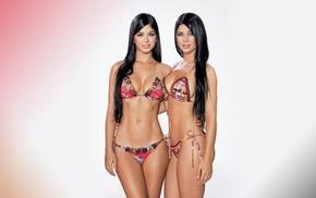 girl, Camila Davalos, bikini, model, Mariana Davalos, Davalos sisters