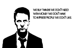 Fight Club, quote