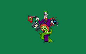 Batman, Powerpuff Girls, crossover