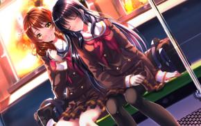 anime, Swordsouls, Kousaka Reina, Oumae Kumiko, anime girls, Hibike Euphonium
