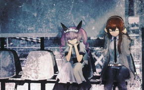anime girls, Makise Kurisu, SteinsGate