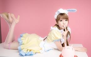 model, Yurisa Chan, girl, cosplay, Korean