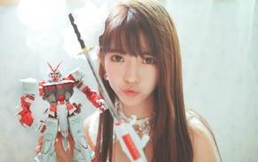 Yurisa Chan, girl, model, Korean