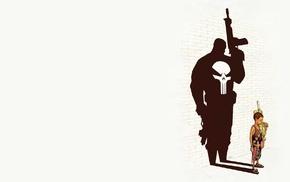 The Punisher, imagination, trash