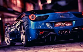 video games, car, Ferrari 458, Gran Turismo 5