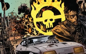 car, Mad Max, Mad Max Fury Road, comics, movies