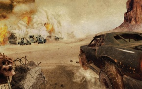 Mad Max, comics, Mad Max Fury Road, car, movies