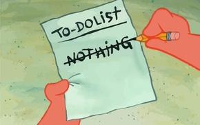 paper, motivational, SpongeBob SquarePants, humor