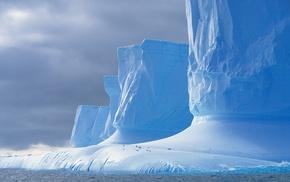 ice, nature, Antarctica, iceberg, landscape