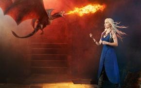 dragon, Daenerys Targaryen, Game of Thrones
