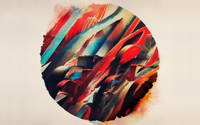 circle, abstract