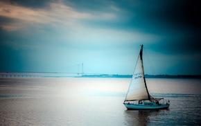 water, sailing ship, boat