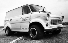 Hot Rod, Ford Supervan, 4x4, Ford, 1971 Ford Transit