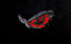 ASUS, logo, computer, Republic of Gamers