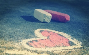 asphalt, hearts