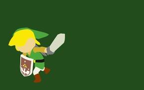 minimalism, Link, The Legend of Zelda, video games