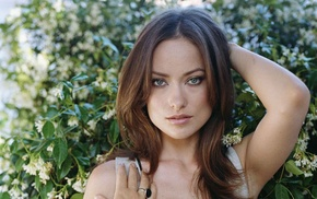 girl, actress, celebrity, face, Olivia Wilde, brunette