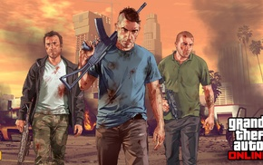 Grand Theft Auto V Online, Rockstar Games, Grand Theft Auto V