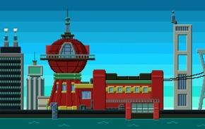 8, bit, Futurama, planet express