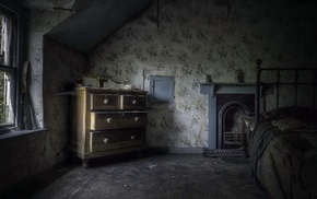 room, spooky, interiors, house, Gothic