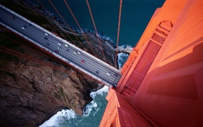 bridge, Golden Gate Bridge, photography, water, San Francisco