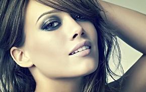 actress, Hilary Duff, dark hair, brunette, girl
