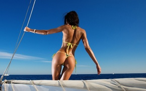 back, Aleksandr Mavrin, ass, model, yachts, girl