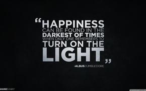 simple background, Albus Dumbledore, quote, Harry Potter