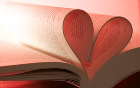 macro, blurred, photography, depth of field, books, pink background