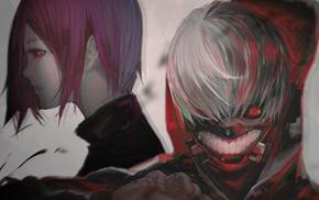 Tokyo Ghoul, Kaneki Ken, Kirishima Touka